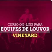Cupom de desconto Curso Online Vineyard