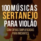 Cupom de desconto 100 Músicas Sertanejo para violão