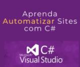 Cupom de Desconto Aprenda Automatizar Sites com C#