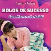 Cupom de desconto Curso Bolos de Sucesso - Marrara Bortoloti