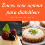 Cupom de desconto Doces para Diabéticos